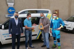 Rotary Club Volterra - Misericordia defibrillatore