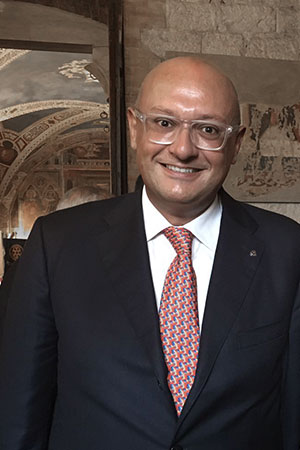 Giacomo gazzarri Presidente Rotary Volterra