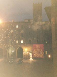 Volterra accesa luce Rotary