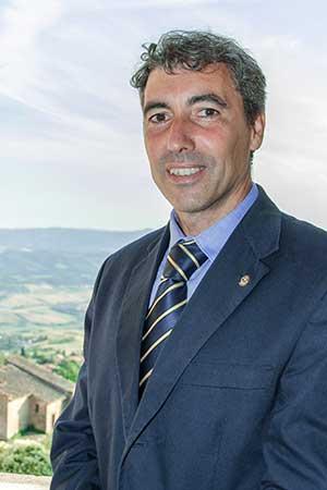 Riccardo Gennai Presidente Rotary Volterra